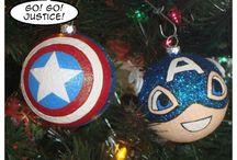 navidad super heroes