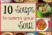 Soup soup soup / All we ever eat is soup, soup, soup