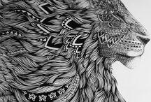 feito tatuagem...