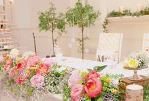 結婚式 会場装花