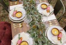 Decoración de mesas [] Tables decoration