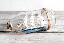 Bottled ships