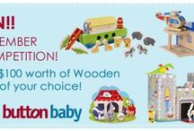 Wooden Toys / by Button Baby Shop