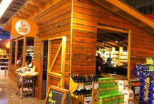 Whole Food Market, Santa Rosa, CA / Next time you are at the Whole Foods Market at Coddington Mall, be sure and visit the Tap Room, where you will be ensconced in North Cal's reclaimed redwood. Belly up to the bar and enjoy!  View more pics at: http://www.northcal.com/portfolio_wfoods.html