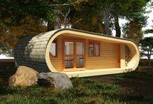 // my tiny house. / When I feel like living simplistically, I'll shift to my tiny house.