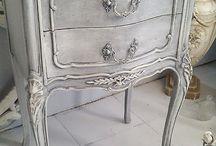 Envejecido mueble