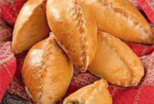 пироги пирожки (несладкая выпечка)
