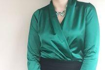 #sewing #dikiş kruvaze bluz dikişi