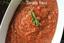 "Enchanting Edibles-Tomato Sauces & Recipes / ""I'll take some meatloaf, some calzones... put the marinara sauce on the side"""