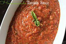 Homemade sauces / by Kym Bartlett