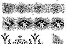 Victorian / Architecture & Patterns in victorian style