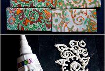 Текстуры для полимерной глины