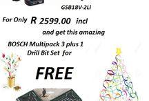 Bosch C/Less Drill GSB18v-Li2