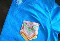 T-Shirt aufpeppen / DIY