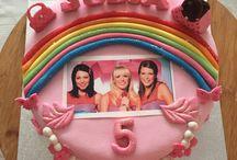 K 3  verjaardag taart
