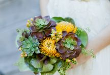 Unique Wedding Bouquets & Boutonnieres  / Off the beaten path bouquets, boutonnieres and florals