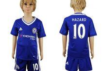 Billige Eden Hazard trøje Børn / Billige Eden Hazard trøje Børn på online butik. Eden Hazard hjemmebanetrøje/udebanetrøje/målmandstrøje/trøje langærmet tilbud  med eget navn.