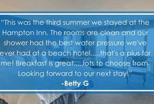 TripAdvisor Reviews / Read what some of our guests have to say about the #4 ranked hotel in Virginia Beach!