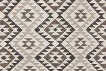 Kelim pattern designs / Pattern designs with the typical Kelim or Kilim pattern style.