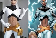 X-Men Storm Costume / Stay in touch on Facebook! https://www.facebook.com/maskerix/