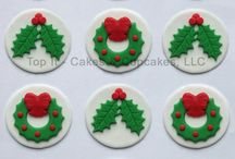 Christmas cup cake ideas