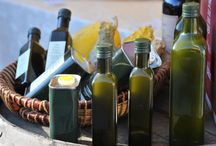 Organic tuscan extra virgin olive oil / we produce our own organic extra virgin olive oil from our 4000 olive trees