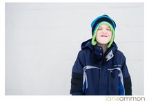 Positive Space + Kids / My Winter 2013 Project I'm drawn to images filled with what I call positive space. I decided to photograph kids, with colorful winter hats, in such a space. Simplicity. Color. Expression.   / by Jane Ammon-Photographer