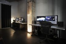 Studio & Office set up / Ideas for our new editing sets
