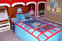 Kids bedroom/ play rooms / by Matina Griffin
