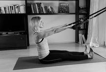 exercise / Übungen für Euer tägliches Yoga und Pilates Workout