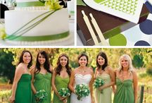 Green Wedding Inpirations
