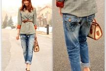 Boyfriend Jeans / by Luci