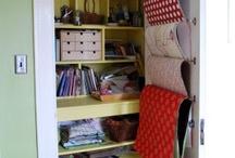 Craft closet ideas / by tracy ippolito
