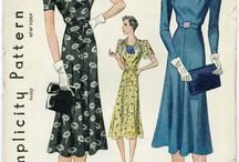 House Of  Vintage Fabric & Patterns / by Carolyn Straup