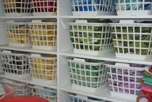 Fabric Storage & Sew Sew Places! / by Emm Bee