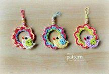 gioielli creati a mano: crochet, knitting....
