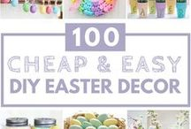 easter / easter decoration ideas and easter food recipes