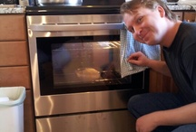 Thanksgiving prep in the new kitchen / by Pam McGinnis