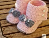 baby shoes & hats