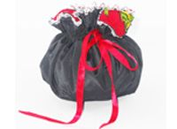 jewellery pouches / Shopibiz presents latest Jewellery pouch this beautiful drawstring bag has eight interior pocket plus a large one in the middle of the bag. This is the perfect bag to hold your necklaces, earrings, rings and watches. while you travel or simply to carry your jewellery inside your purse.This is the perfect gift to give on any occasion.