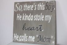 For My Boys, My Family!  Love Mom2! / by Janet Stover