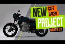 Honda CX500 Cafe Racer Project