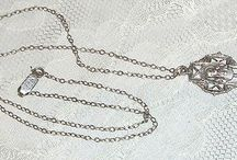 STERLING SILVER BEAUTIFUL CATHOLIC NECKLACE -VINTAGE-MINT-CHECK IT OUT