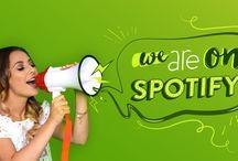 GLOW goes Spotify / Freu dich auf die ♥-Tracks deiner GLOW Beautys, die du dir hier, auf unserer Website und natürlich direkt auf unserem Spotify-Channel anhören kannst!