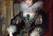 Queen Anne of France / Anne of Austria (22 September 1601 - 20 January 1666), a Spanish princess of the House of Habsburg, was queen of France as the wife of Louis XIII, and regent of France during the minority of her son, Louis XIV, from 1643 to 1651. She was the daughter of Philip III, King of Spain and Margaret of Austria. Louis XIII and Queen Anne had two sons. Louis XIV of France and Philippe I, Duke of Orléans.