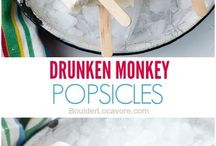 On a Steeek! / Boozy ice lollies