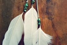 Hair Adornments - Feathered