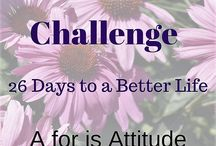 A-Z Challenge 26 days to a better life