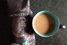 Comfort of Caffeine / I love coffee and tea