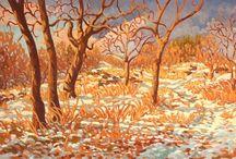 Snow Love / Snow paintings by Canadian Artist Jeffrey J Boron